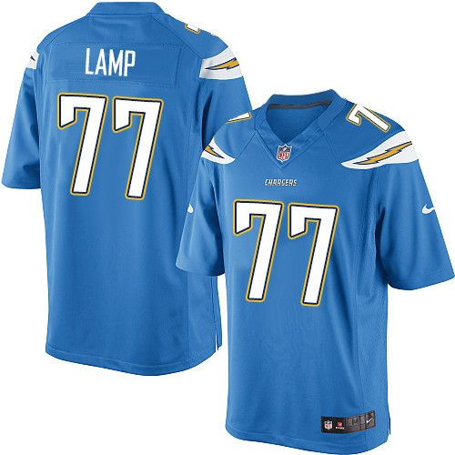 Youth Nike Los Angeles Chargers #77 Forrest Lamp Limited Electric  supplier