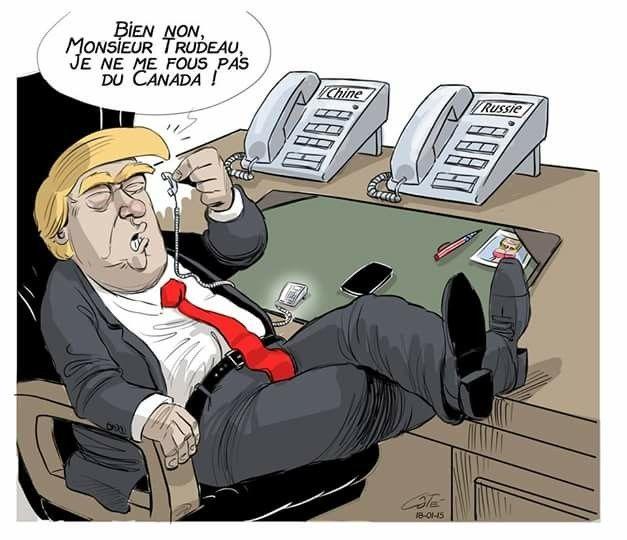 André-Philippe Coté (2018-01-15) USA: Donald Trump, Canada