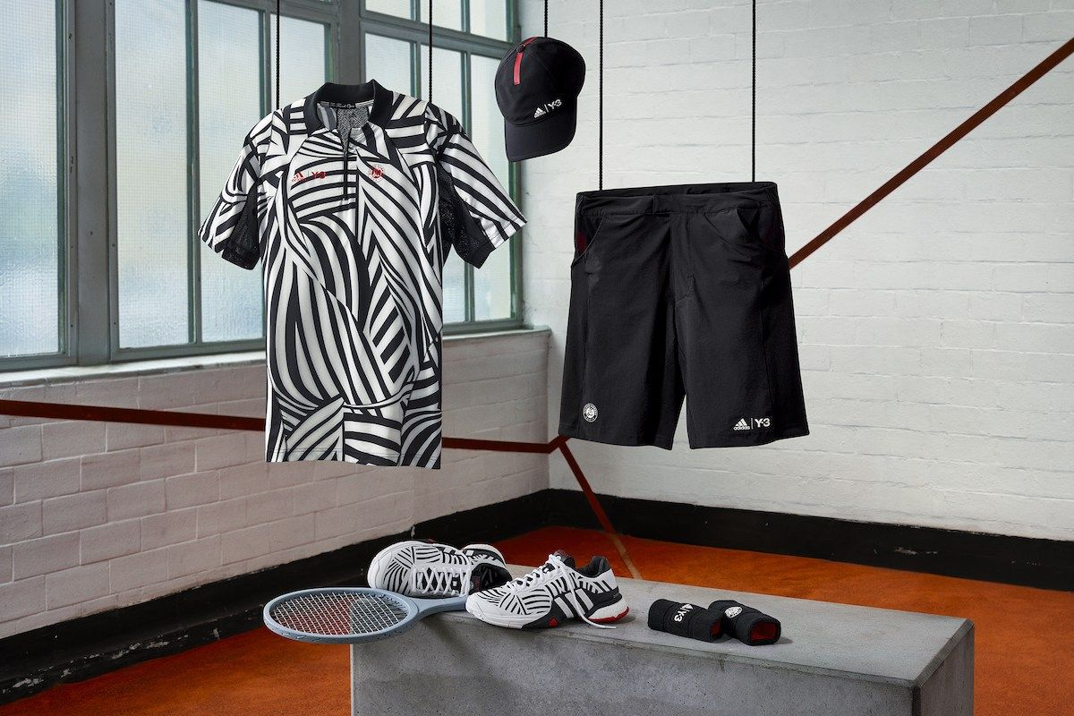 3d45f25e6de76 The adidas Tennis x Y-3 2016 Collection Is Designed to Dazzle Your Court  Opponent
