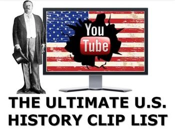 Photo of The Ultimate U.S. History YouTube Cliplist