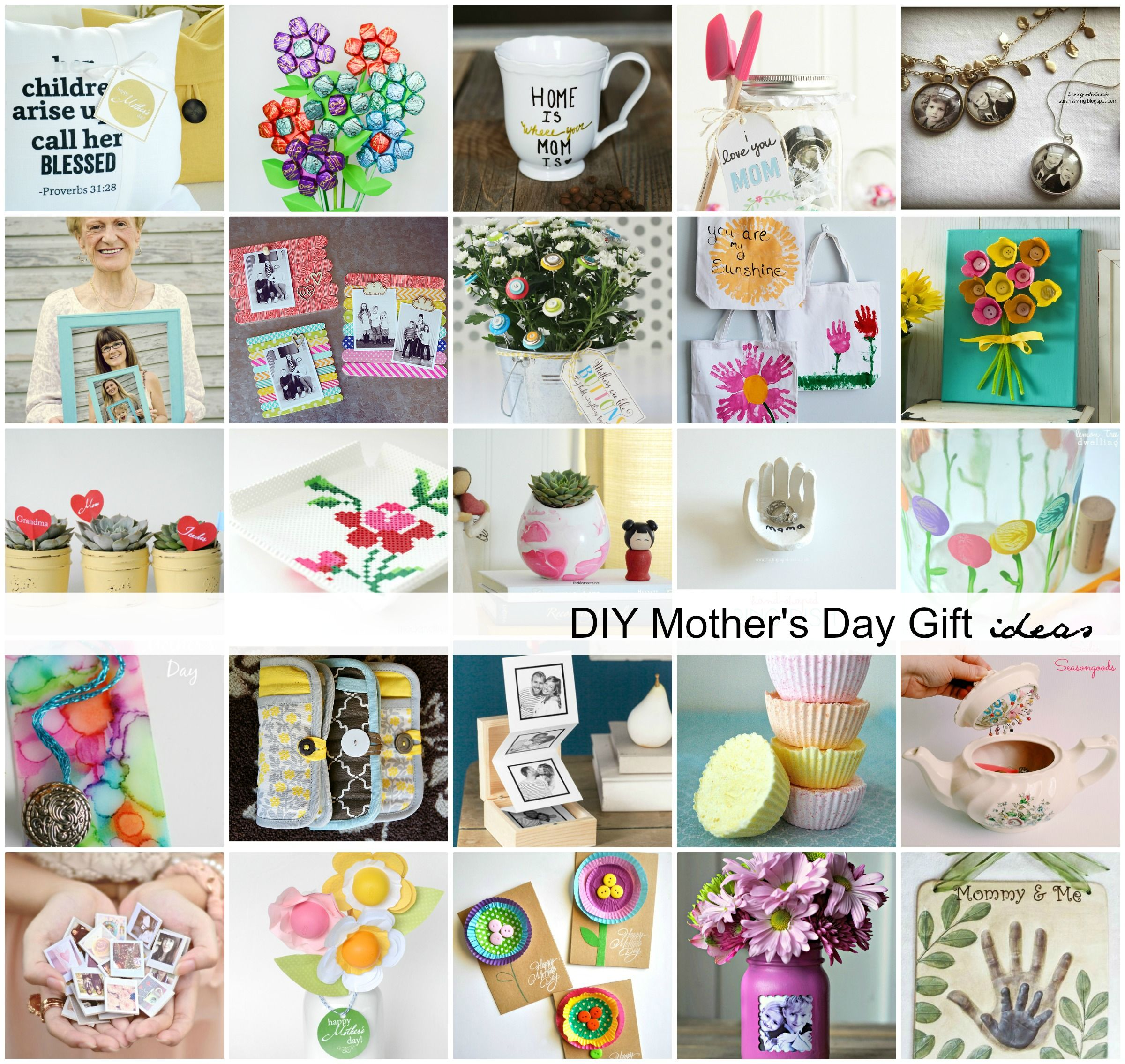Handmade Mother S Day Gift Ideas