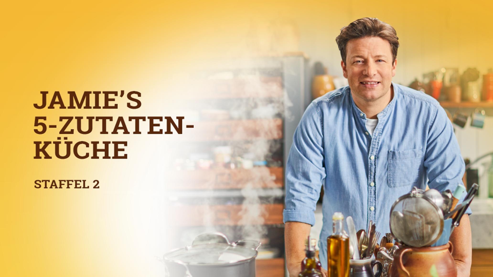 Jamies 5 Zutaten Kuche Kuchenzauberei Bei Rtl Living Mit Jamie Oliver Jamie Oliver Kuche Jamie Oliver 5 Zutaten Rezepte
