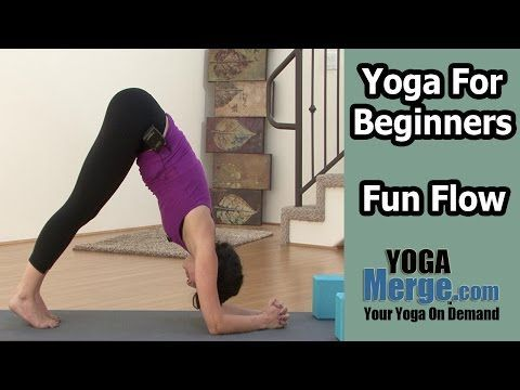 yoga for beginners  basic  fun vinyasa flow  youtube