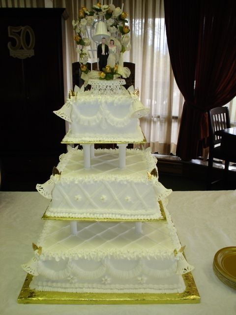 1950s Wedding Cake Pictures 1950 S Replica Cake This Is