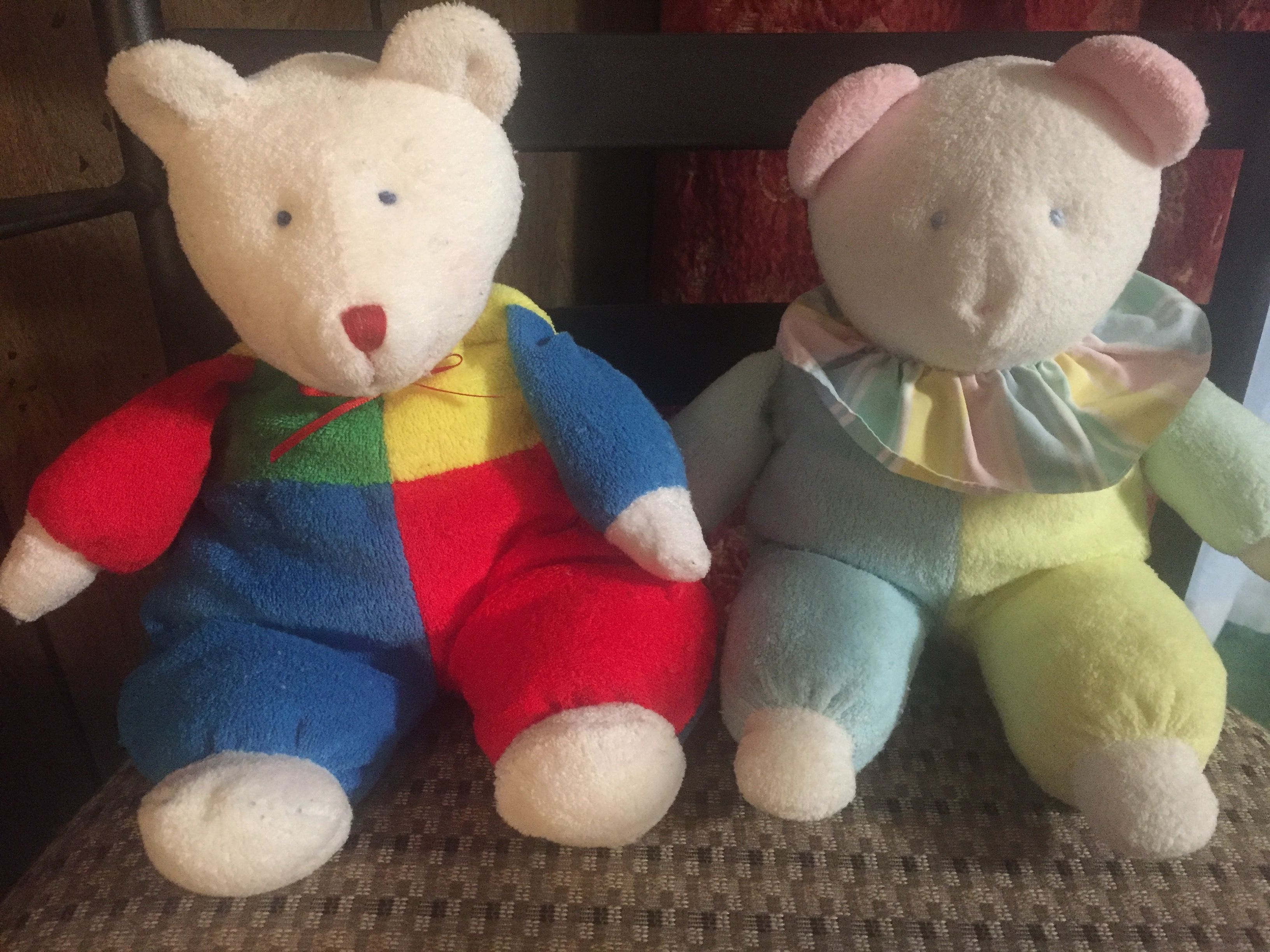 Eden Terrycloth Bear Bear Plush Teddy Bear Bear [ 2448 x 3264 Pixel ]