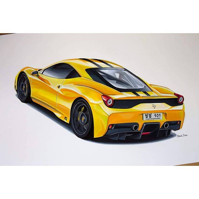 #mulpix Ferrari 458 speciale   #car  #drawing  #cardrawing  #cardrawings  #carart  #ferrari  #458 #porsche  #speciale #supercar  #laferrari  #supercars  #lamborghini  #mclaren  #f1