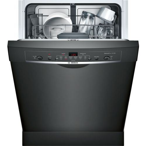 Bosch She3ar76uc Dishwasher Built In Dishwasher Steel Tub Black Dishwasher