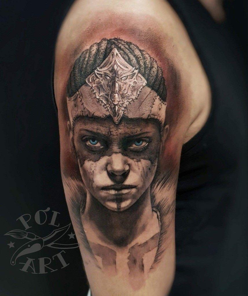 Senua Hellblade Tatoo Cool Tattoos Body Art Tattoos Body Art
