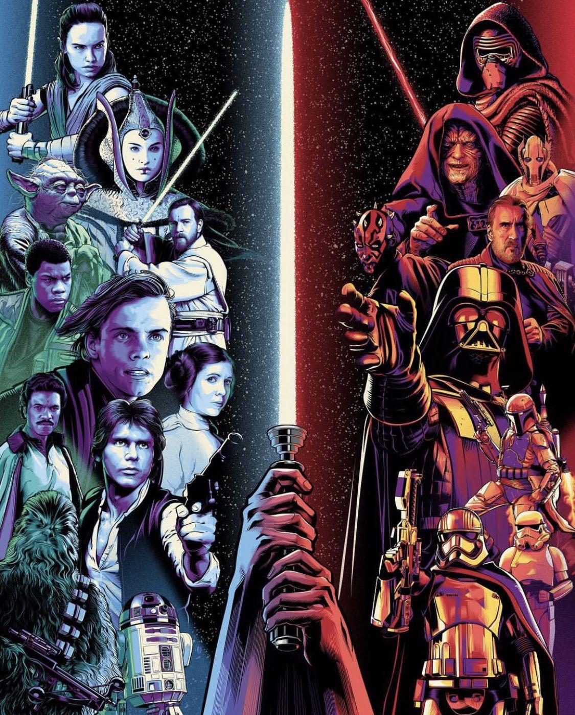 Everything Star Wars Yourestuckwithmeskyguy Star Wars Painting Star Wars Awesome Star Wars Background