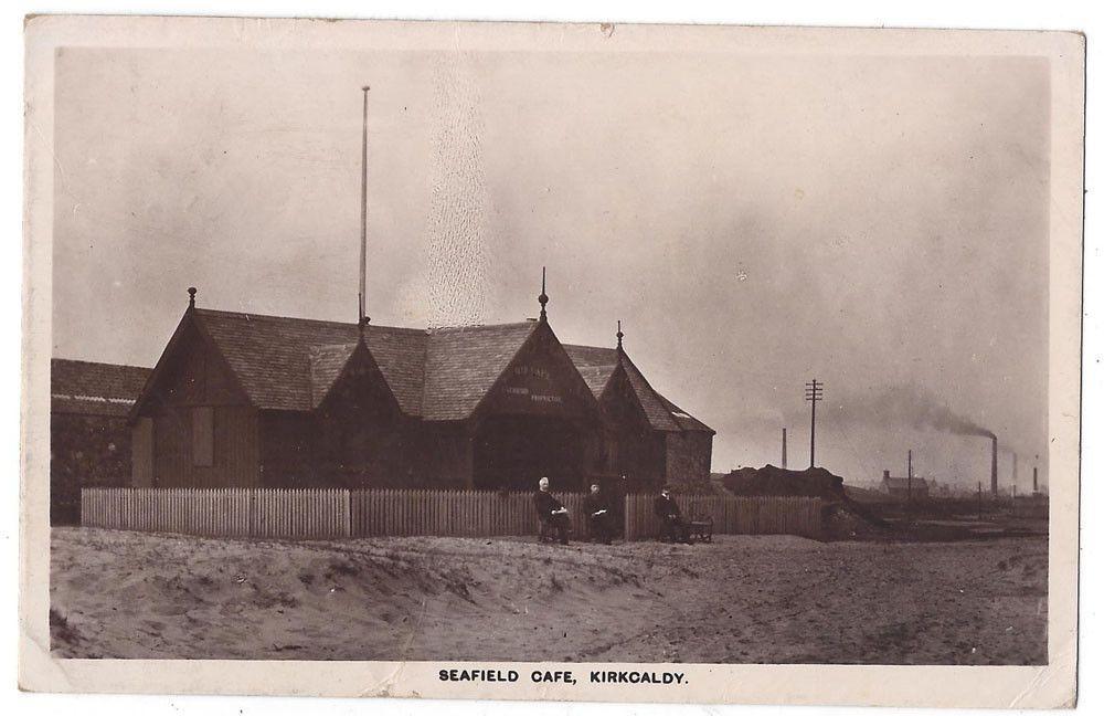 Kirkcaldy Seafield Cafe Rp Postcard By S A B Postmarked Kirkcaldy 1907 Ebay Postcard Places Of Interest Postmark