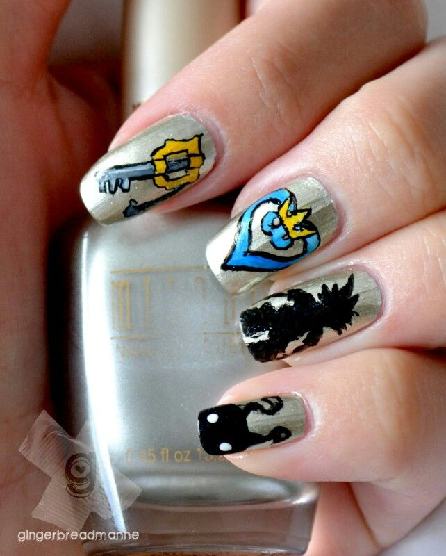 Kingdom Hearts | Nails | Pinterest | Gorgeous nails and Makeup