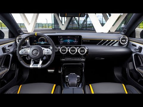 2020 Mercedes Amg Cla 45 S 4matic Coupe Interior Design Youtube Mercedes Amg Mercedes Amg