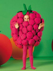 Burda Style Fasching Kinderkostume Obst Gemuse Himbeere