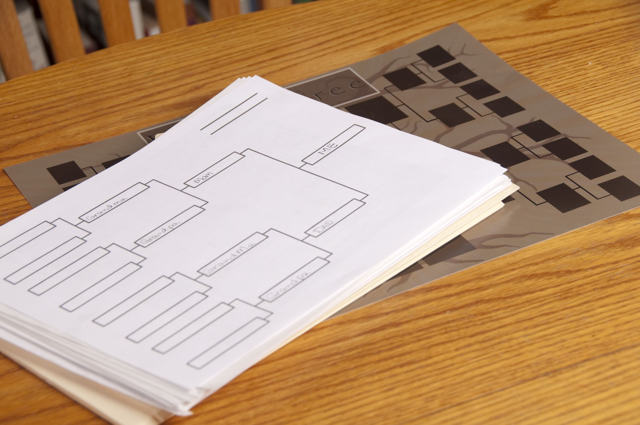 Free Printable Family Genealogy Chart