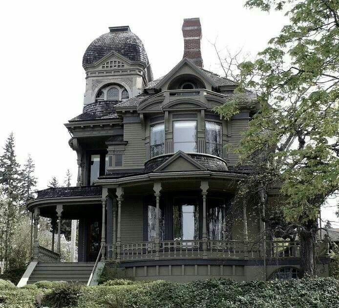 Dark Victorian House