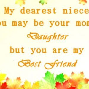 Birthday Quotes For Niece From Aunt
