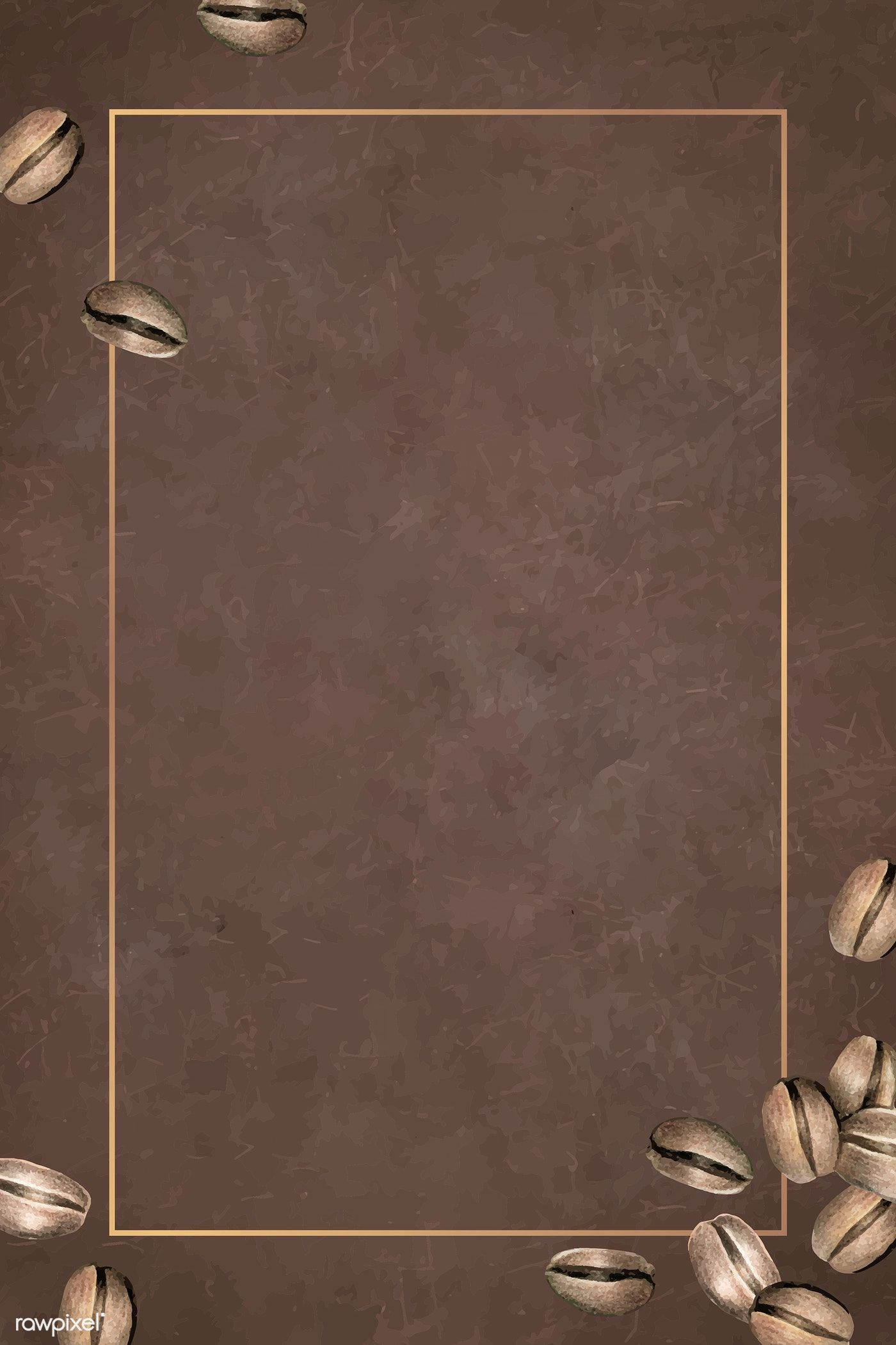 Download premium vector of Blank coffee day background