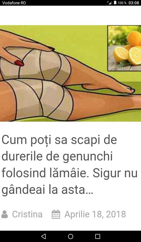 Cele mai bune remedii naturiste pentru durerea genunchilor