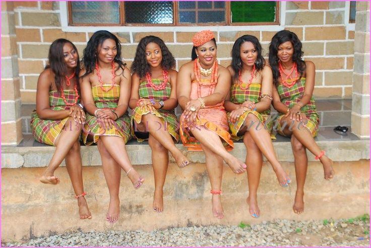 Pin von Emmanuel Ejam auf Naija Women group attires | Pinterest