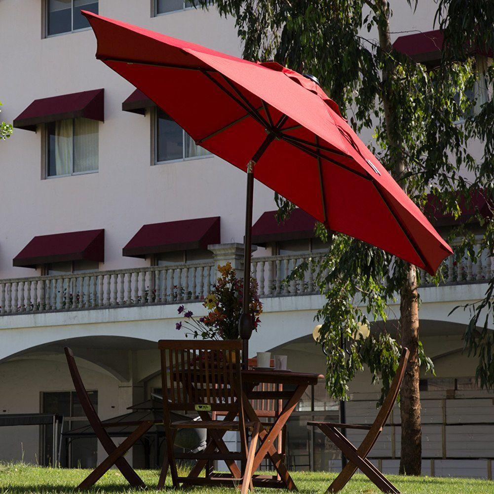 amazon com abba patio 11 feet patio umbrella outdoor market