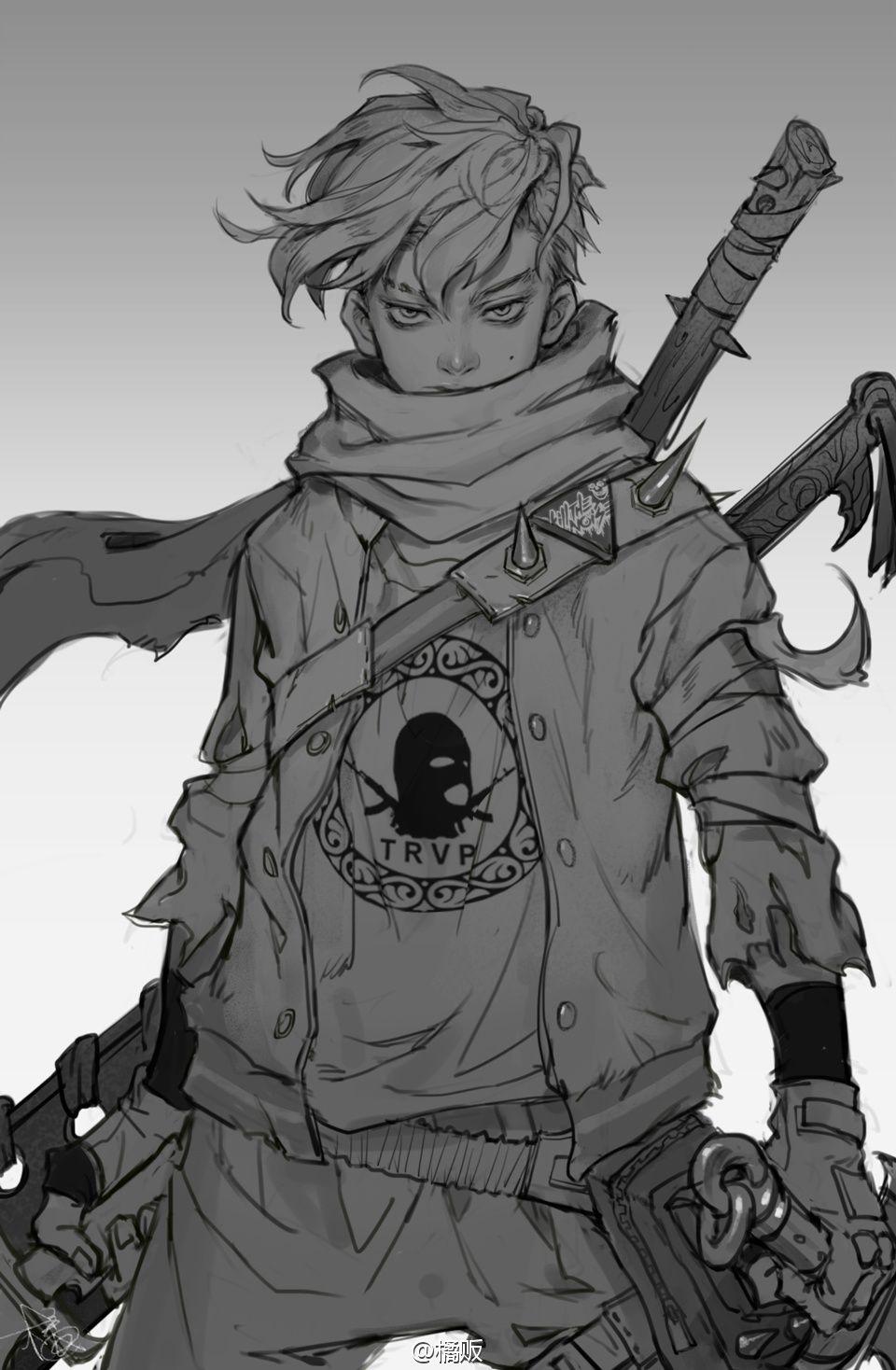 橘贩 橘贩的微博 プロダクトスケッチ、アニメキャラクター、キャラクターデザイン