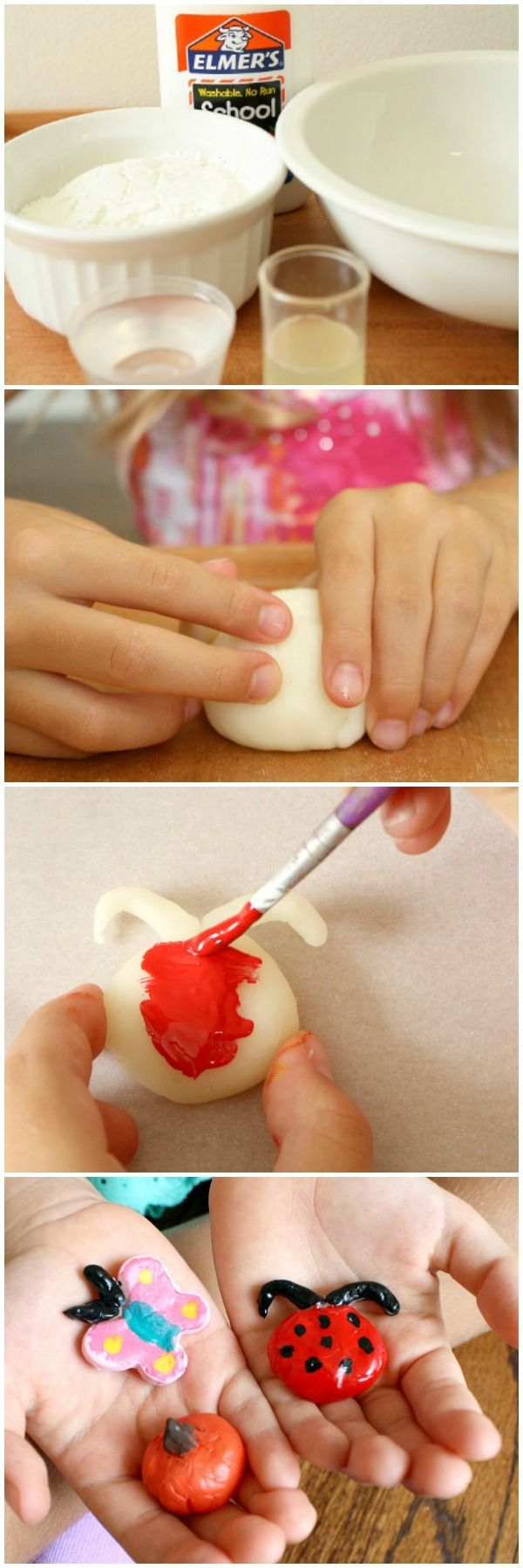 DIY Air Dry Clay Recipe for Craft Projects Diy air dry