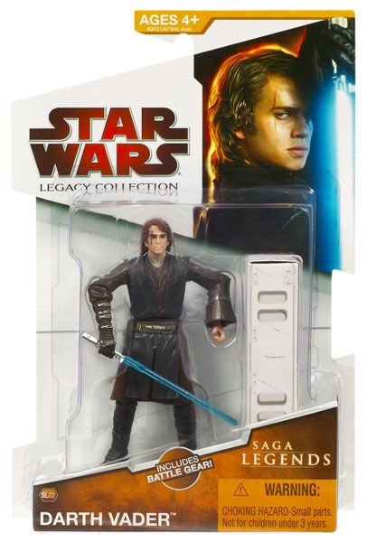 2009 Legacy Collection Legends Carded Darth Vader Anakin