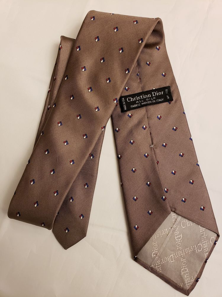 40091f0c85b Christian Dior Patterned Tie 100% silk  fashion  clothing  shoes   accessories  mensaccessories  ties (ebay link)