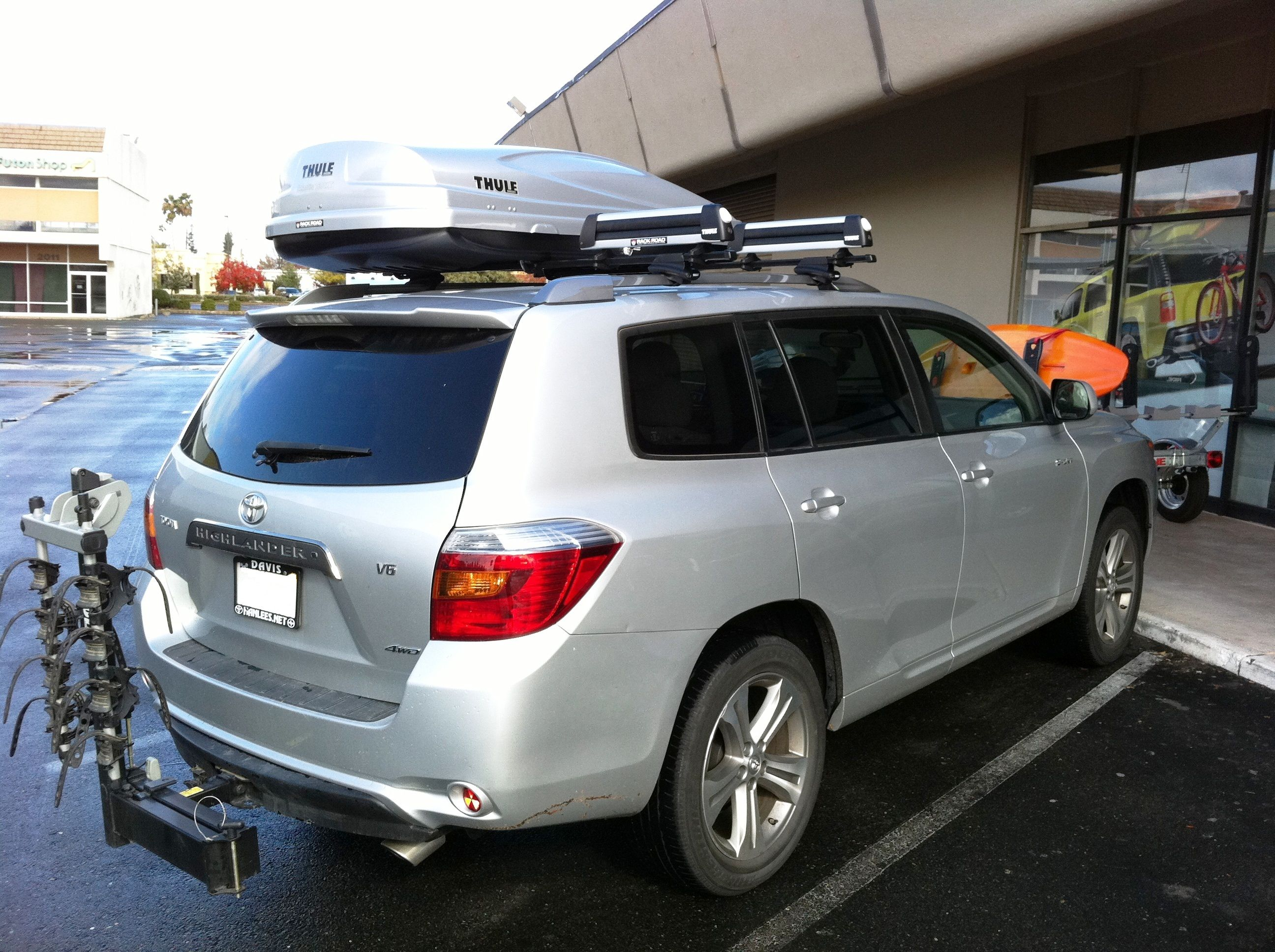 For Those Interested In Cargo Roof Boxes For Your Highlander
