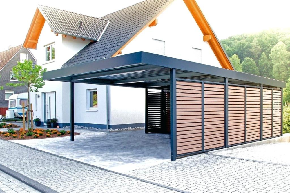 Carports Metall Uninorm Technic Ag Firstdach Carport Metal