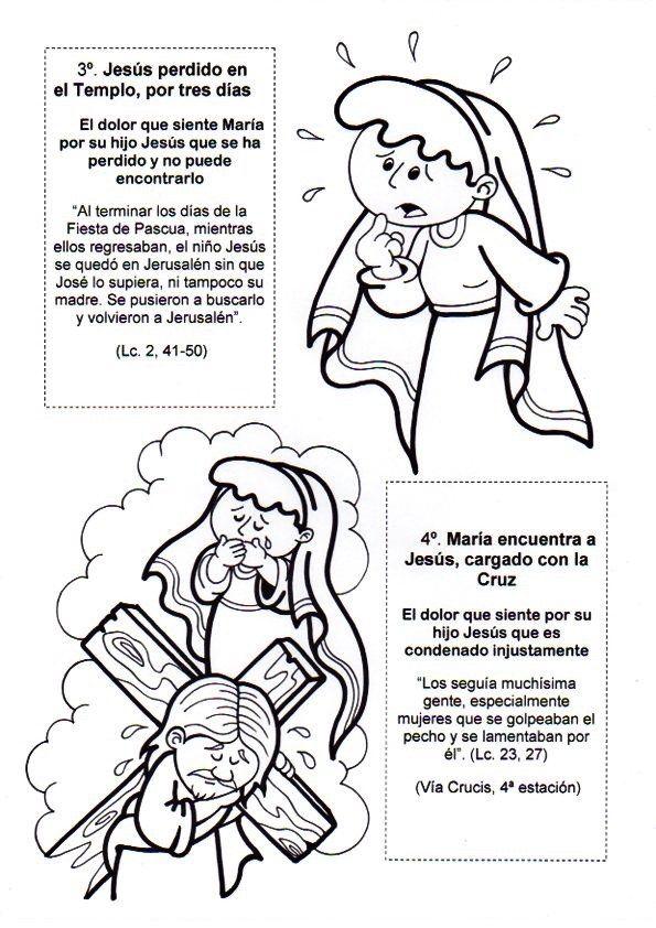 El Rincón de las Melli: Los siete dolores de la Virgen Maria para ...