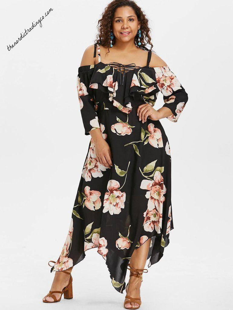 Plus Size Women\'s Floral Maxi Dress 1X 2X 3X 4X #dresses ...