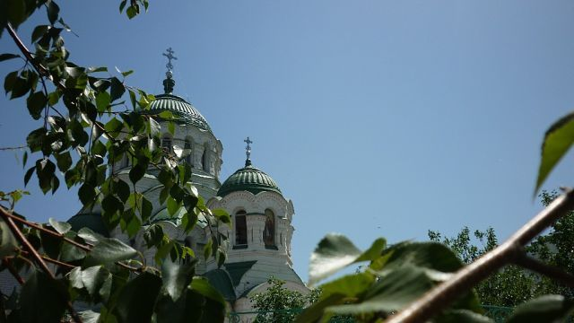 The Church of St. Vladimir Astrakhan