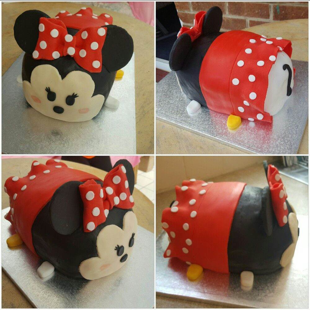 Minnie Mouse tsum tsum cake Natalie Pinterest Minnie mouse