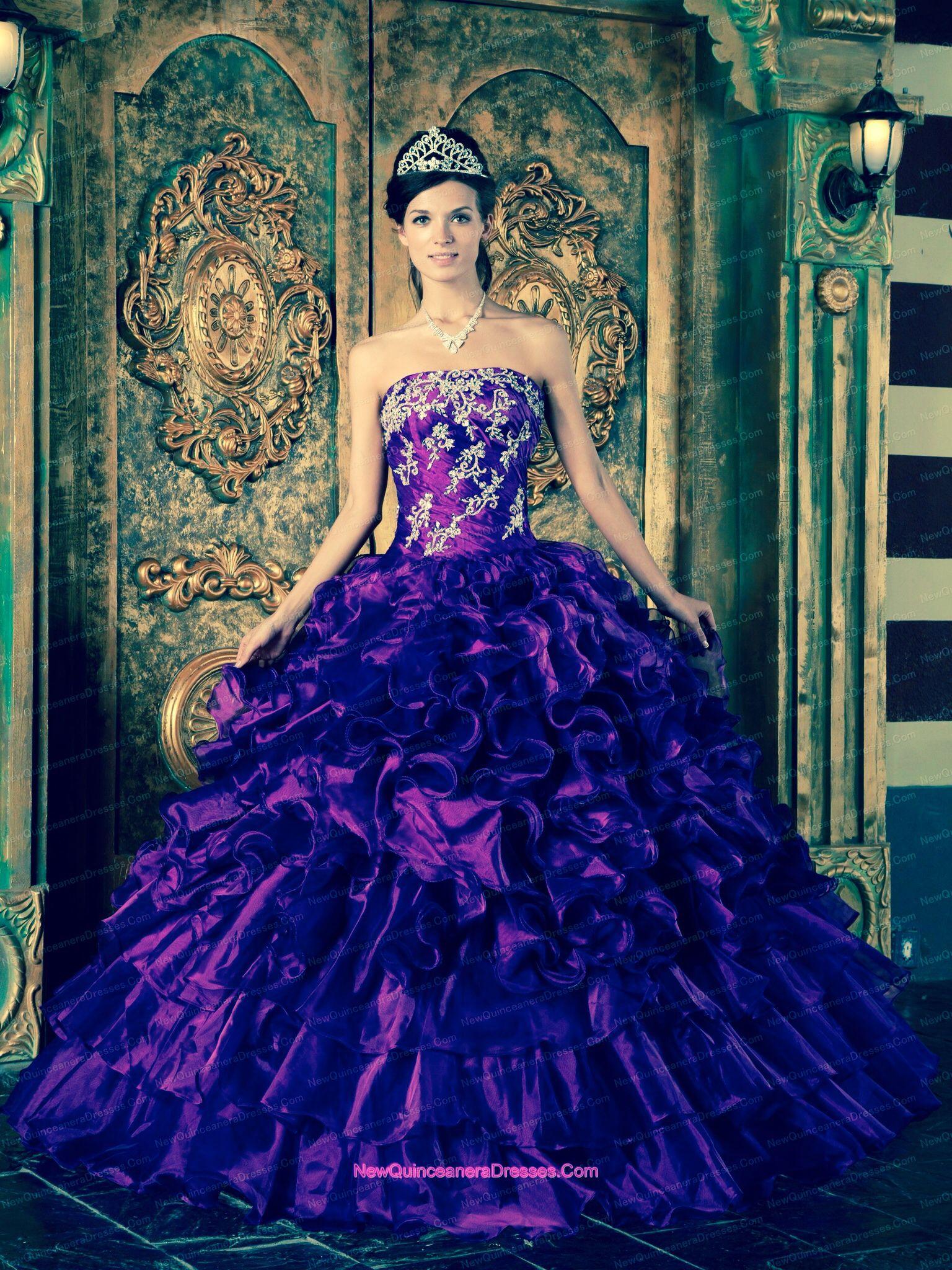 Dress she likes | Quinceanera de mi hija | Pinterest | Kleider