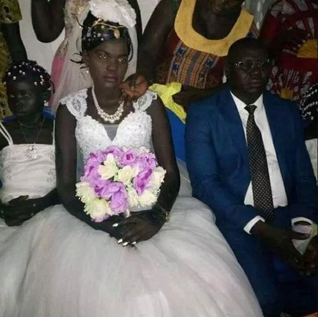 Photos:Underage Bride Looks Downcast On Her Wedding To