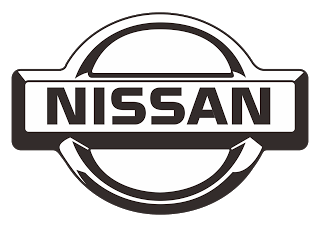 Vector logo download free: Nissan Black white Design Logo