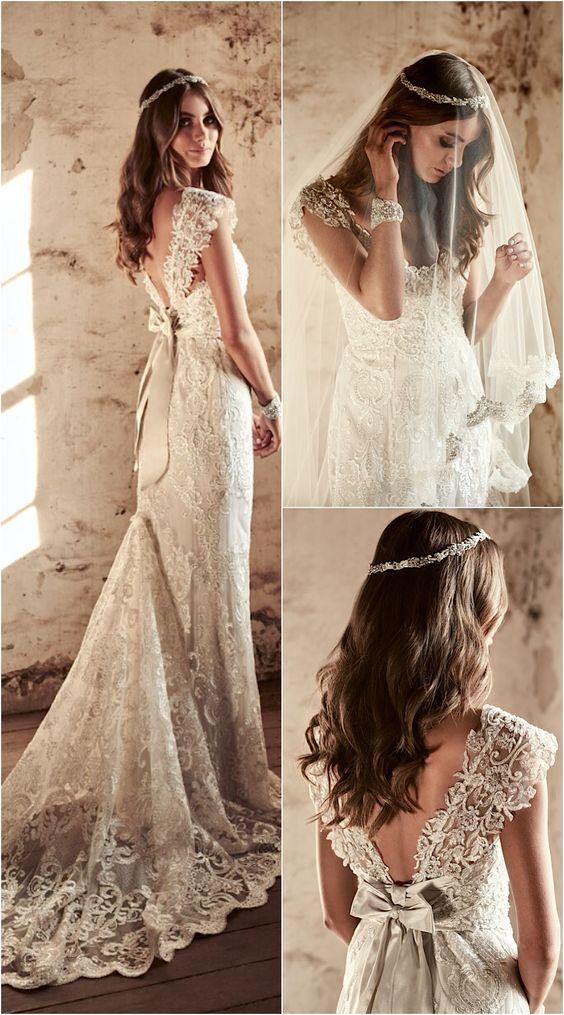Wedding dress inspiration anna campbell mari e robe for Robes de mariage anna campbell
