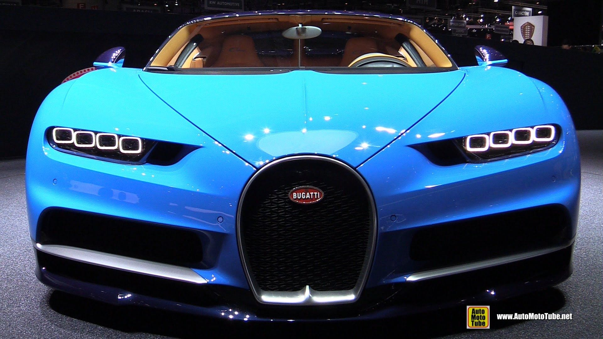 Bugatti Chiron Quick View Debut At Geneva Motor Show