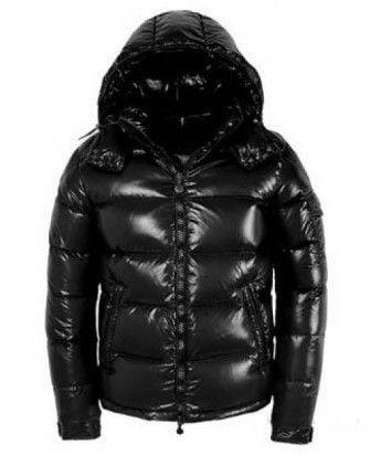Black · Moncler Maya Winter Down Jacket ...