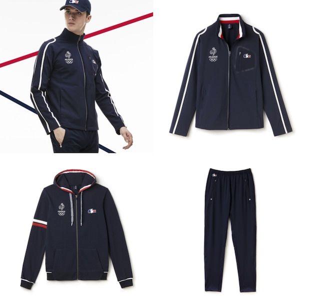 10fcc26c34 Les vêtements Lacoste de la France aux Jeux Olympiques | Mode ...