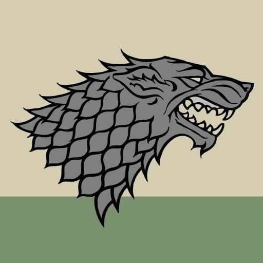 House Stark Of Winterfell Is A Great House Of Westeros Ruling Over The Vast Region Known As The House Stark Sigil House Stark Stark Sigil