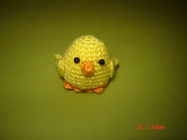 Easter Chick Pattern Easter Crochetstuff Pinterest Easter