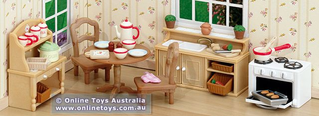 Sylvanian Families Cottage Kitchen Set Sf4261 Online Toys