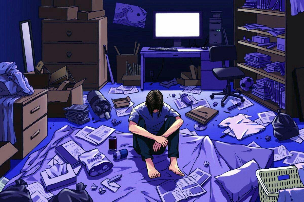 Pin Oleh Blue Squad Di Gift Seni Animasi Ilustrasi Karakter Animasi Tv