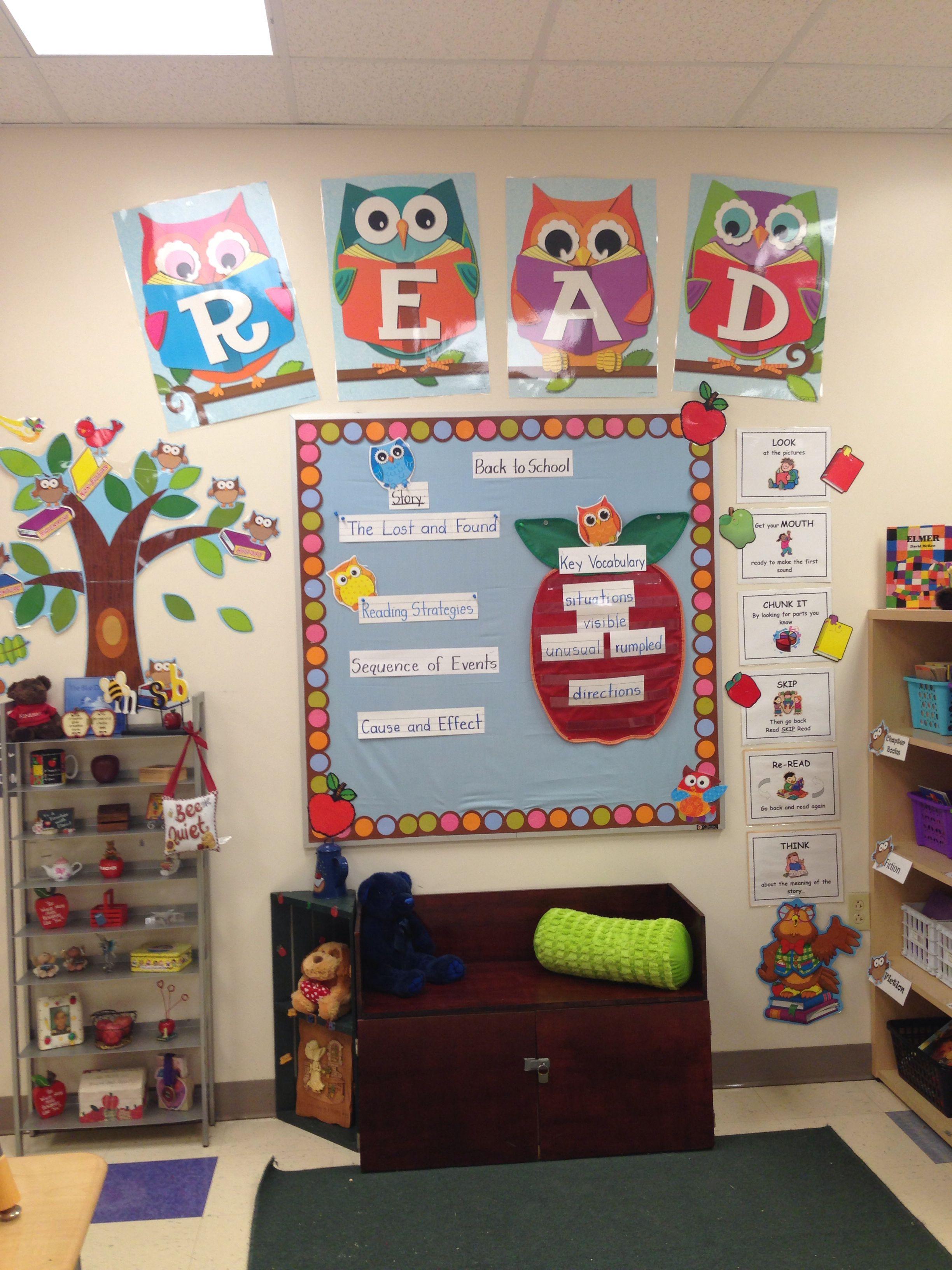 Library Owl Theme