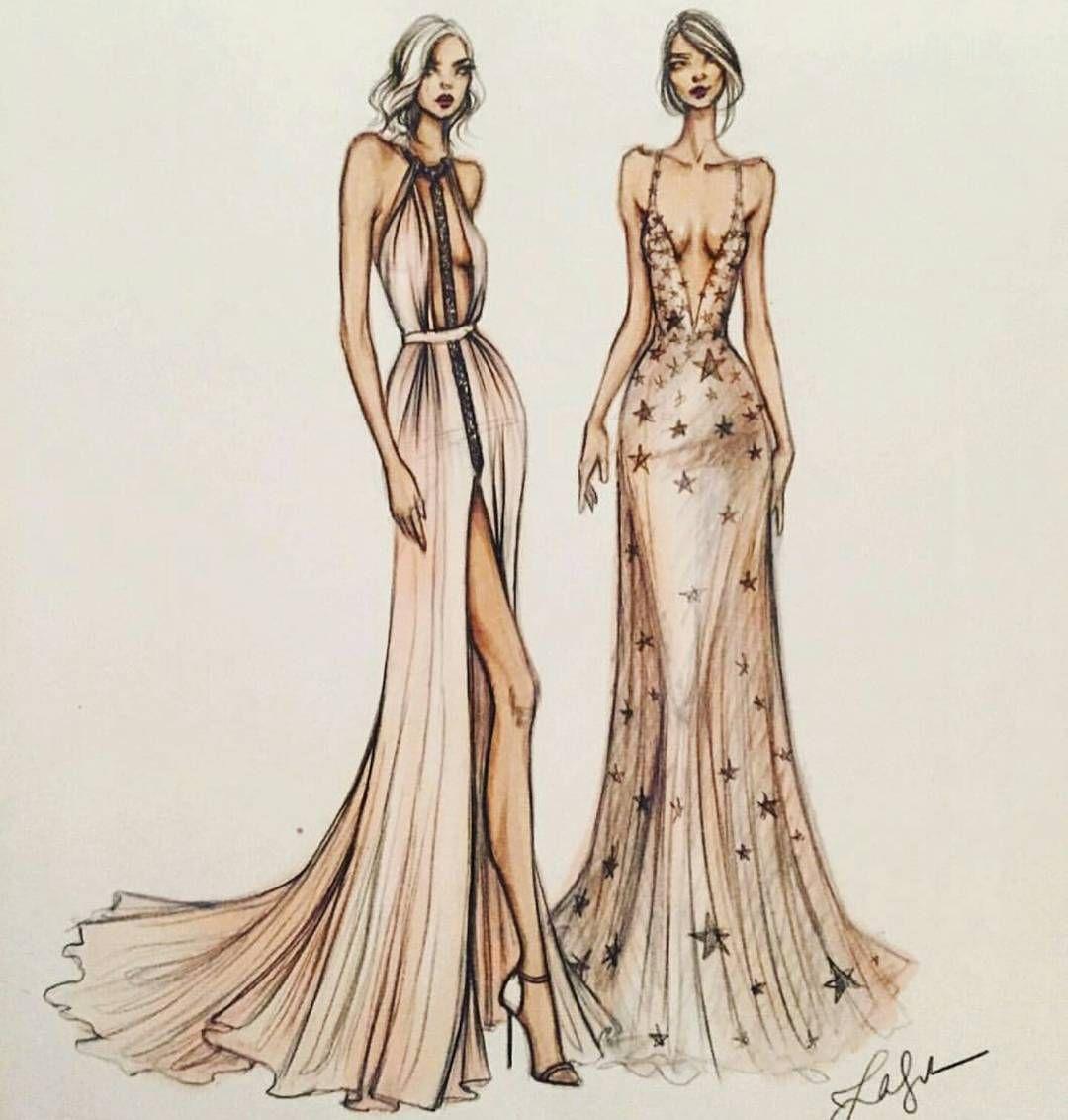 Instagram love pinterest bocetos dise os de moda y for Dibujos de disenos de moda
