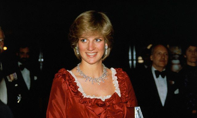March 4, 1982: Princess Diana attends the Barbican Centre in London the following night after the Queen opened it. David Frost hosts the Night Of Knight's.
