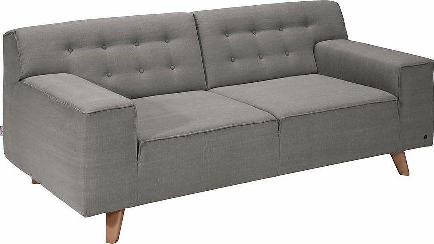 Wohnzimmer Buche ~ Tom tailor 2 sitzer sofa »nordic chic« im retrolook füße buche