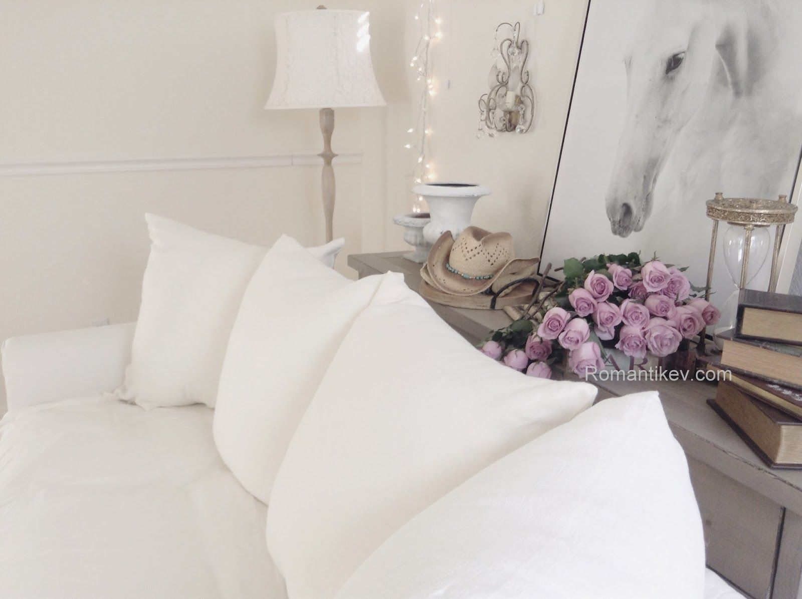 Romantic shabby chic home romantic shabby chic blog - Shabby Chic Beyazlar Romantic Shabby Chic Prairie Style Romantic Home Roses Kir Evi